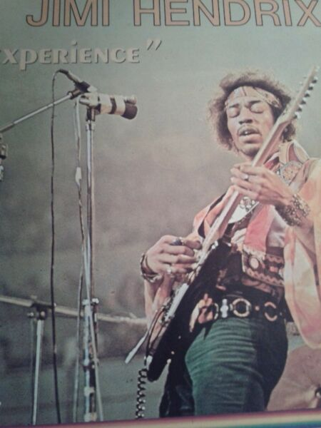 "Jimi Hendrix ‎– Original Soundtrack Of The Motion Picture ""Experience"" lp, F"