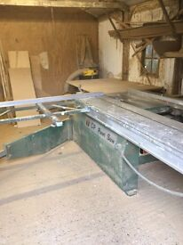 Cabinet makers machinery and tools for sale plus workshop available to rent if needed