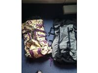 Pair of camping hiking bags for sale £30