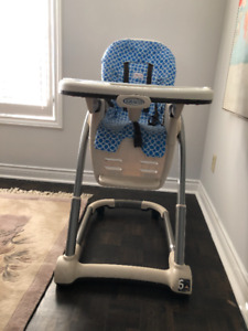 GRACO HIGH CHAIR & BOOSTER SEAT