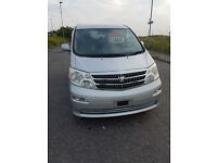 Toyota Alphard AX L Edition (with Option to add Roof and Side / Rear conversion)