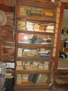 antique stacking bookcase