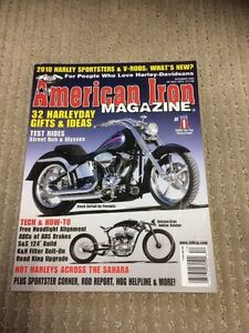 American Iron Back Issues