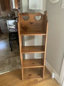 Small wooden bookcase
