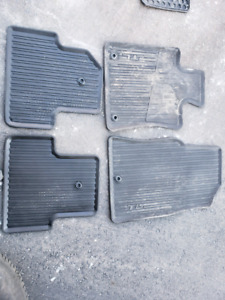 2009-2014 Acura TL OEM Rubber Winter Mats