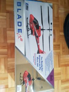 Hélicoptère téléguidé blade cx2