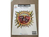 Sublime 40oz to freedom guitar tab book