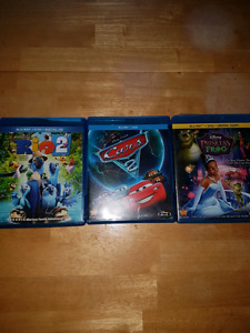Cars 2...Rio 2....The Princess And The Frog