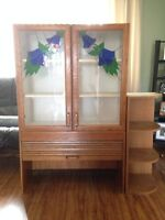 Stain glass display shelf