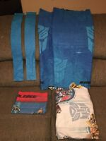 Transformers bedding and curtain panels