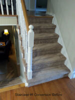 STAIRCASE CONVERSIONS - STAIR REFINISHING