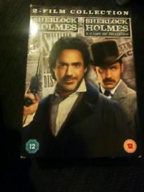 Sherlock holmes 2 dvds boxset £5 OVNO PLEASE