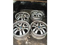 Genuine Bmw 16inch alloys ronal 7j straight but have lacquer