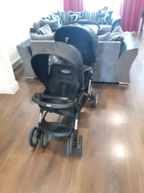 Pushchair twin doubles