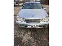 Mercedes c220 estate diesel auto elegance 2002 drives mint 895