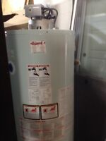 New water heater 50gal