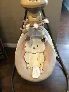 Fisher Price Snug A Puppy Swing $100
