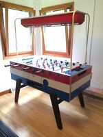 Babyfoot, soccer sur table