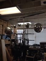 Mirror balls. Different sizes for sale