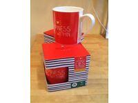 ️Happy Jackson Happiness Lies Within ceramic mugs New boxed