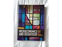 Microeconomics & Behaviour textbook
