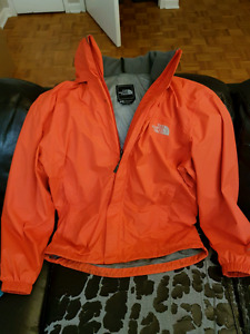 Men's Small Tibetan Orange North Face Rain Jacket