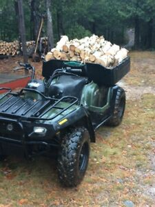 2002 ATV Bombardier Traxter 4x4 500cc Works great new battery