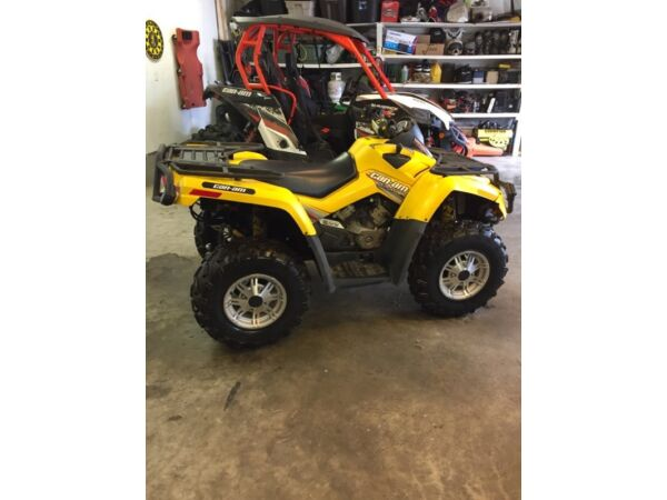 Used 2008 Can-Am outlander xt