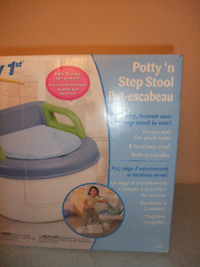 Potty n Step stool ( 3 in 1)