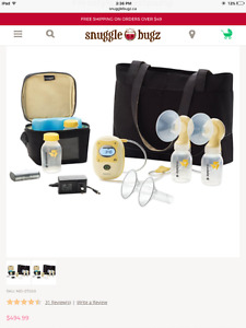 New in sealed box Medela freestyle double breast pump.