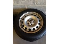 Mini wheels and tyres x 4