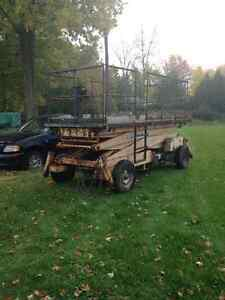 6x12 Propane Manlift for Sale