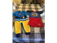 Thomas and fireman Sam pyjamas