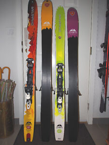 2013 Dynastar Cham 107 High Mountain Skis, Men's & Womens