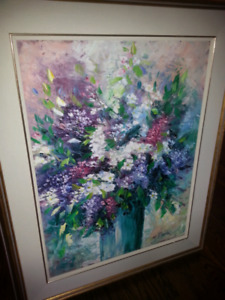 Floral painting for sale