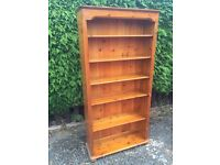 6ft Tall Solid Pine Bookcase - Can Deliver