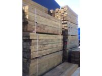 Brand New Grade A Timber Wooden Sleepers