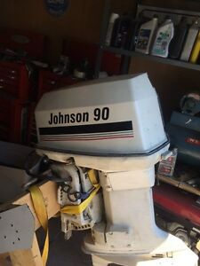 1990 Johnson 90hp Outboard Motor