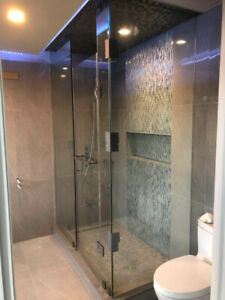 10mm Tempered Glass Shower Doors / Stairs / Mirrors