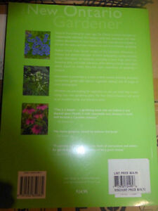 Book: The New Ontario Gardener (like new condition) Kitchener / Waterloo Kitchener Area image 2