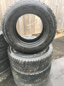 Goodyear LT 275 70 17   $260 for all 4