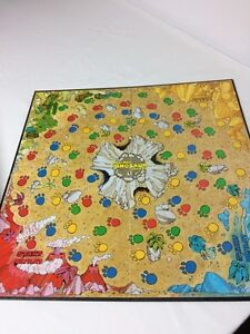 Dizzy dizzy dinosaur board game from 1987 - 100% complete London Ontario image 2