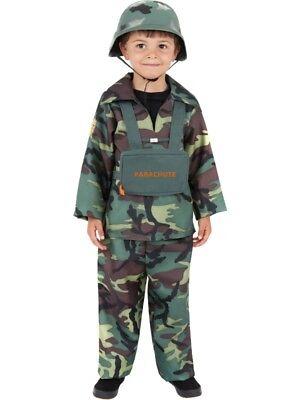 Soldaten Kostüm Soldat Militär Army Kinderkostüm