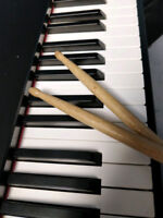 Sticks and Keys, Piano and Drum Lessons by Steve Normand
