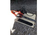 Black & Decker corded chainsaw used 2-3 times 40cm blade