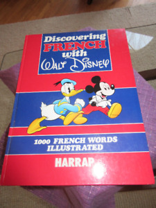 Discovering French with Walt Disney Hardcover