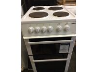 Beko 50cm electric cooker in mint condition with warranty
