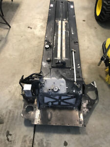 Skidoo 146 tunnel with inner chain case and radiators