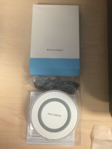 Qi Wireless Fast Charger iPhone 8/X , Samsung S6.7.8.9 Note , Lg
