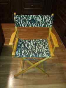 Duck's Unlimited Director's Chair